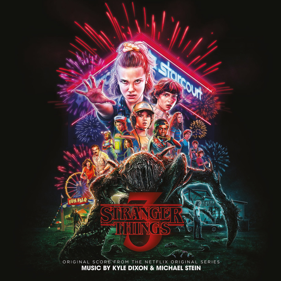 Stranger Things 3 - Neon Vinyl (Netflix OST) by Kyle Dixon & Michael Stein image