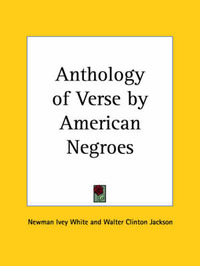Anthology of Verse by American Negroes (1924) image