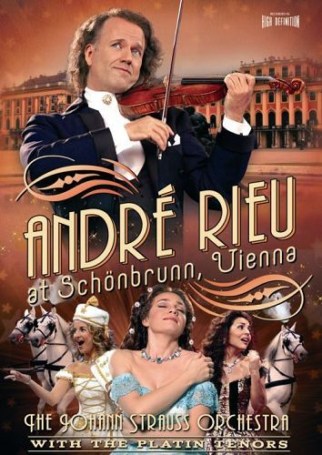 Andre Rieu - At Schonbrunn, Vienna on DVD