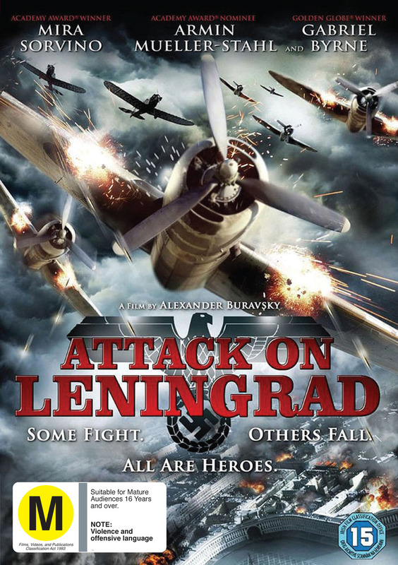 Attack on Leningrad on DVD