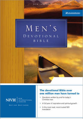 NIV Men's Devotional Bible: With Daily Devotions from Godly Men by Zondervan Publishing