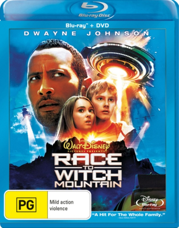 Race to Witch Mountain (2 Disc) Blu Ray + DVD on DVD, Blu-ray