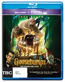 Goosebumps BR + UV on Blu-ray