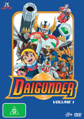 Daigunder - Vol. 1 on DVD