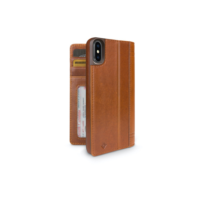 Twelve South Journal for iPhone XS Max (Cognac)