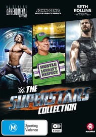 WWE: The Superstars Collection on DVD image