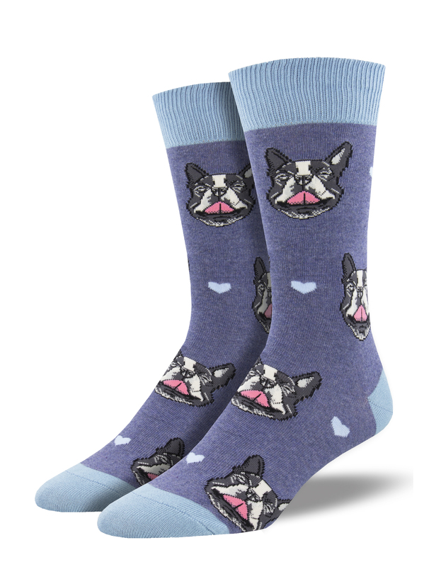 Socksmith: French Kiss - Blue Heather