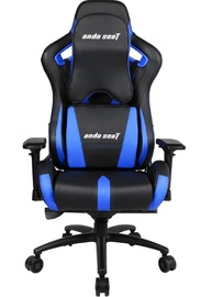Anda Seat AD12XL-03 Extra Large Gaming Chair (Black & Blue) for