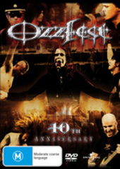 Ozzy Osbourne's Ozzfest 10th Anniversary on DVD