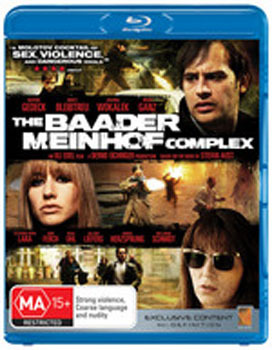 The Baader Meinhof Complex on Blu-ray