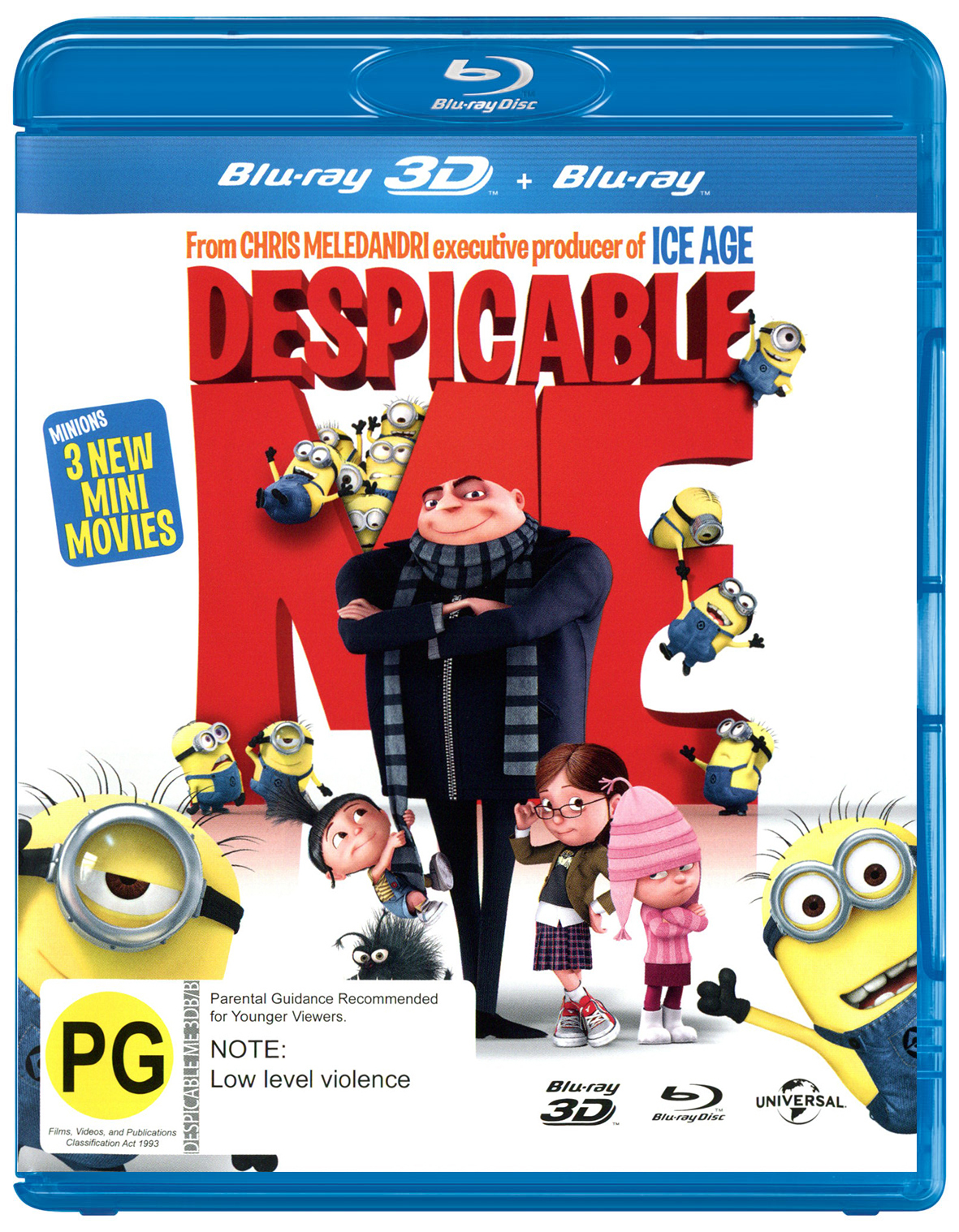 Despicable Me on Blu-ray, 3D Blu-ray image