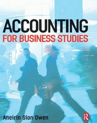 Accounting for Business Studies by Aneirin Owen image