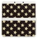 New Nintendo 3DS Cover Plates - No. 14 (Gold Star) for Nintendo 3DS
