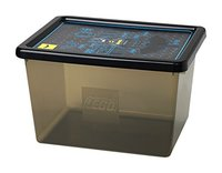 LEGO Batman Movie: Storage Box - Large (Transparent Black)
