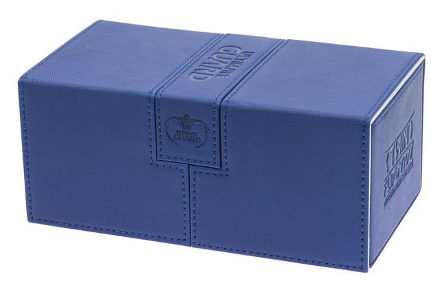 Ultimate Guard: 200+ XenoSkin Twin Flip'n'tray Deck Case (Blue)