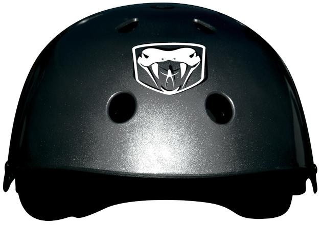 Adrenalin Black Skateboard Helmet