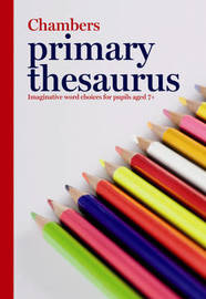 Primary Thesaurus by . Chambers image