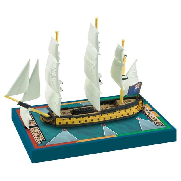 Sails of Glory - HMS Polyphemus 1782 / HMS America