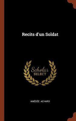 Recits D'Un Soldat by Amedee Achard image