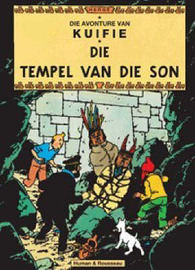 Die Tempel Van Die Son (The Adventures of Tintin #14 - Afrikaans) by Herge