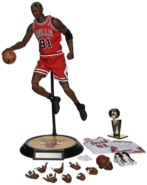 NBA: Dennis Rodman - 1/9 Scale Action Figure image