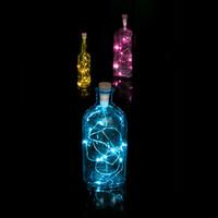 Suck Uk: Bottle Light String Multicoloured