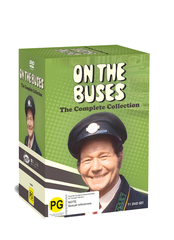 On The Buses Full Collection on DVD