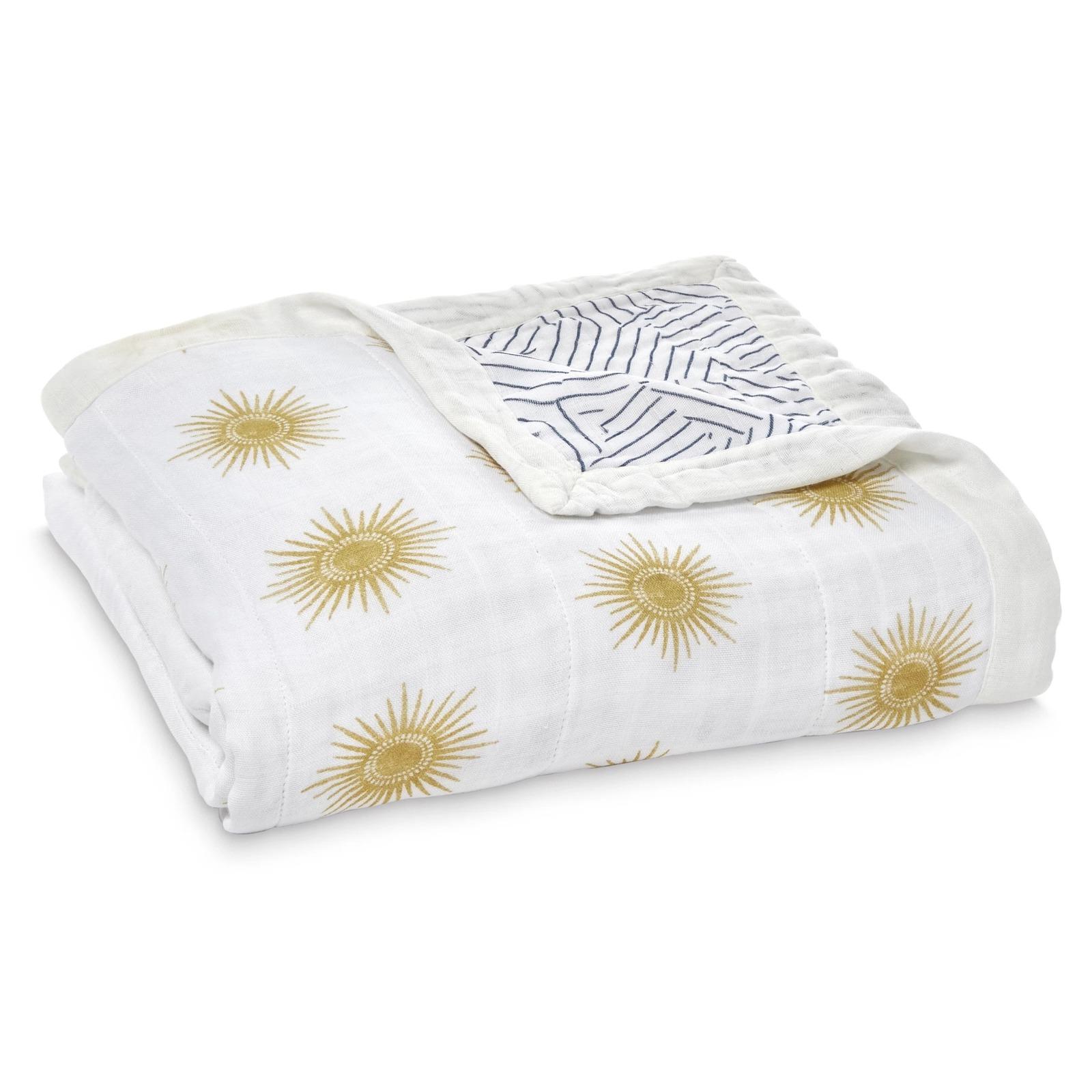 Aden + Anais: Silky Soft Bamboo Dream Blanket - Golden Sun image