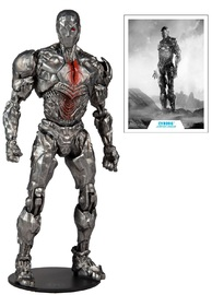"""Justice League: Cyborg (with Helmet) - 7"""" Action Figure"""