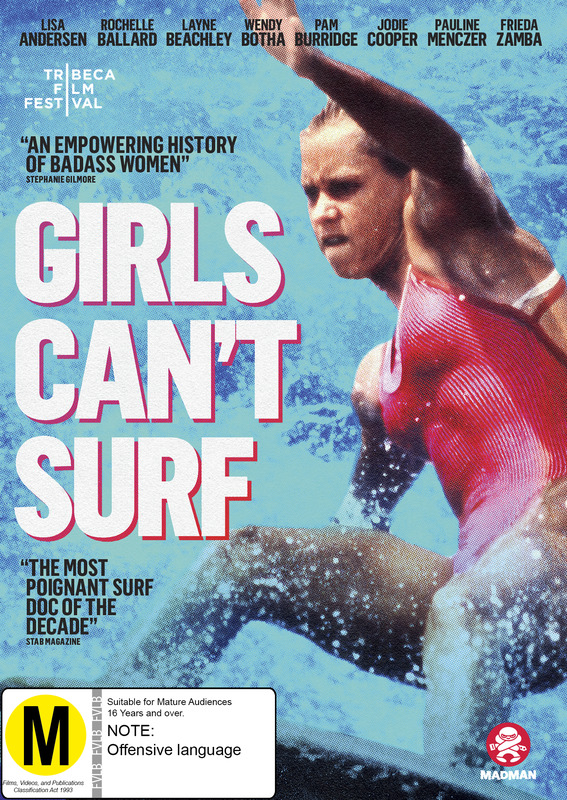 Girls Can't Surf on DVD