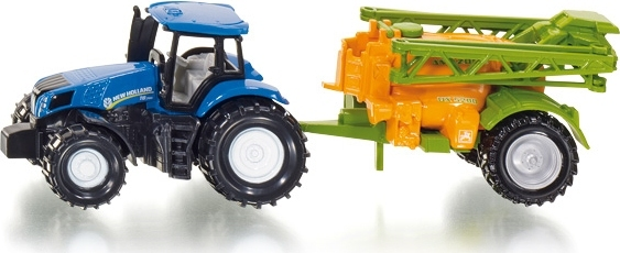 Siku: New Holland Tractor With Crop Sprayer