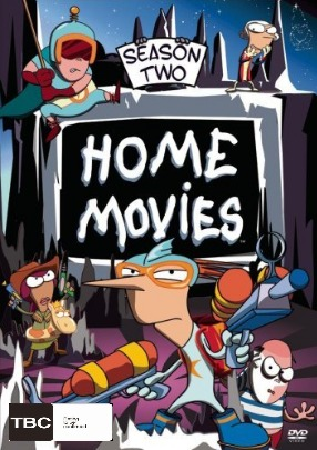 Home Movies - Season 2 (3 Disc Set) on DVD image