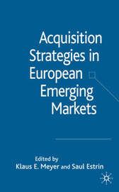 Acquisition Strategies in European Emerging Markets image