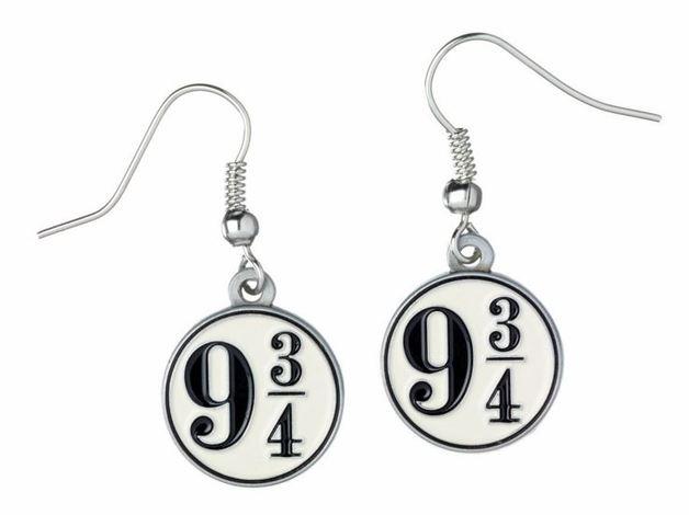 Harry Potter Earrings - Platform 9 3/4 (silver plated)