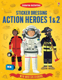 Sticker Dressing Action Heroes 1 and 2 by Megan Cullis