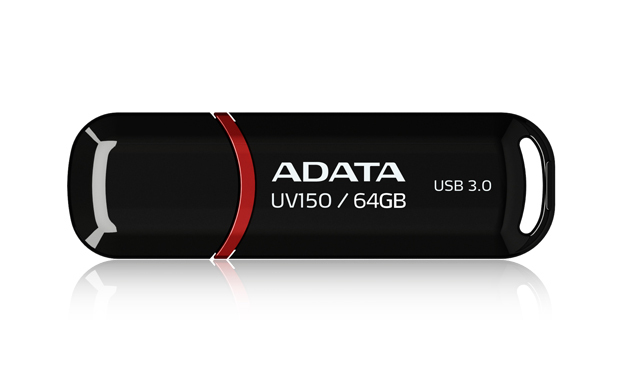 64GB ADATA UV150 Dashdrive USB 3.0 Flash Drive (Black) image
