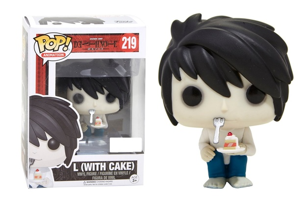 Death Note - L ( With Cake) Pop! Vinyl Figure