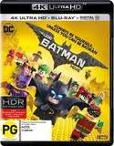 The Lego Batman Movie (4K UHD + Blu-ray + Digital) DVD