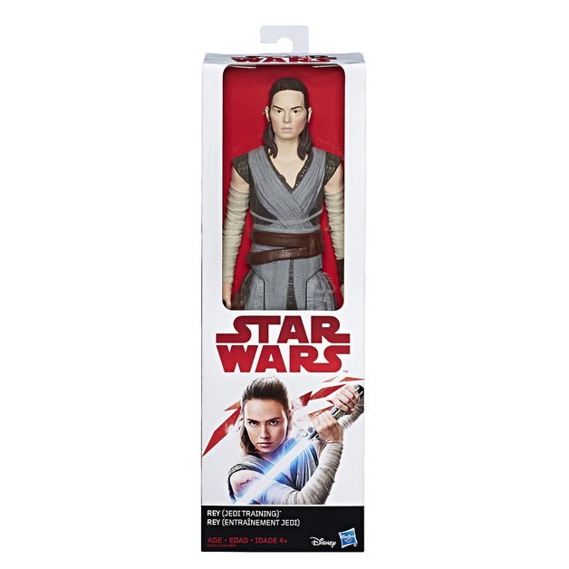 "Star Wars: The Last Jedi 12"" Figure - Rey (Jedi Training)"