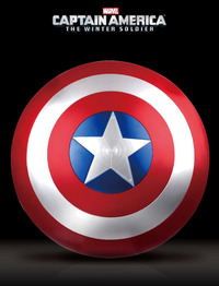 Marvel: Captain America Shield (Red Ver.) - Life Size Replica