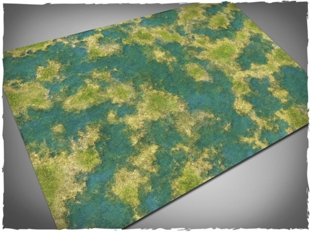 Deep Cut Studio: Tropical Swamp Neoprene Mat (4x4)