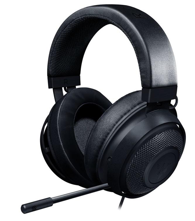 Razer Kraken Multi Platform Gaming Headset (Black) for PC image