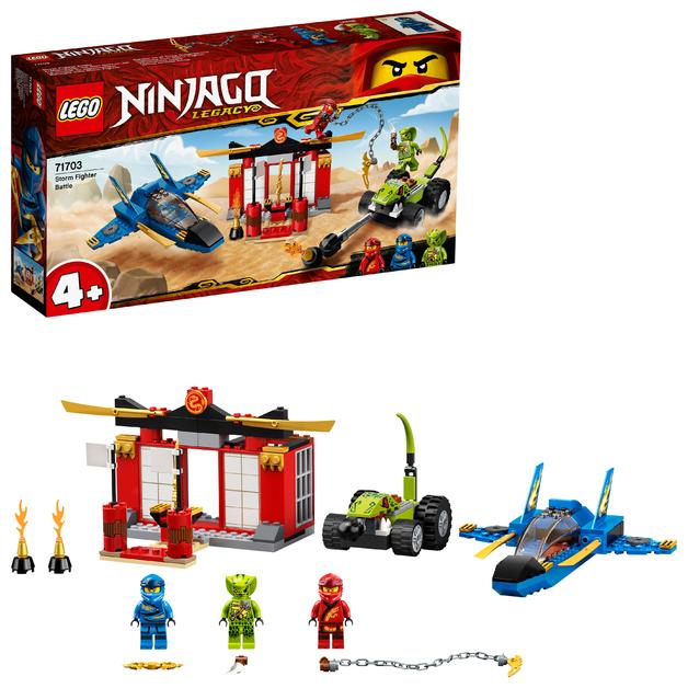 LEGO Ninjago: Storm Fighter Battle - (71703)