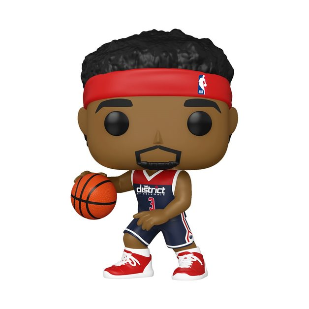 NBA: Wizards - Bradley Beal (Alternate) Pop! Vinyl Figure