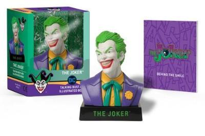 The Joker Talking Bust And Illustrated Book image