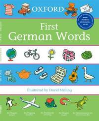 Oxford First German Words by Neil Morris image