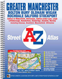 Greater Manchester Street Atlas by Geographers A-Z Map Company