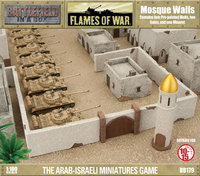 Flames of War - Mosque Walls