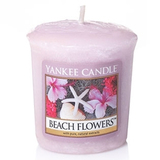 Yankee Candle Sampler Votive - Beach Flowers (49g)
