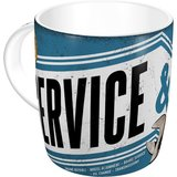Retro Coffee Mug - Best Service & Repair Garage